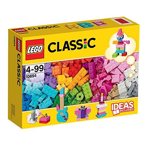 LEGO Classic - Complementos Creativos de Nuevos Colores, Juguete de Construcción Creativo con Ladillos Coloridos (10694)