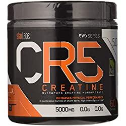 Starlabs nutrition cr5, creatina ultrapura micronizada, 300gr.