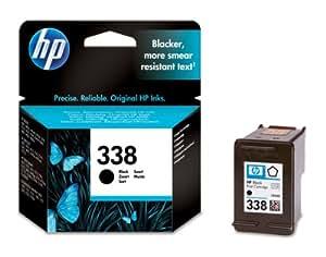 HP N°338 Cartouche d'encre d'origine Noir