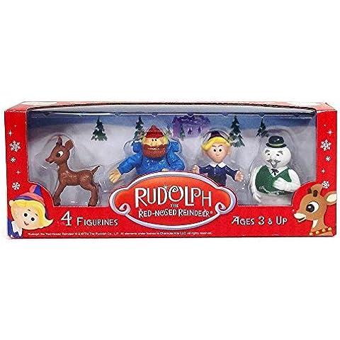 Rudolph Figurine Set by Rudolph