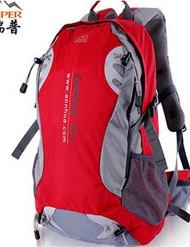 ZQ 35-45L L Tourenrucksäcke/Rucksack / Wandern Tagesrucksäcke / Rucksack Camping & Wandern / Klettern / Reisen DraußenWasserdicht / Blue