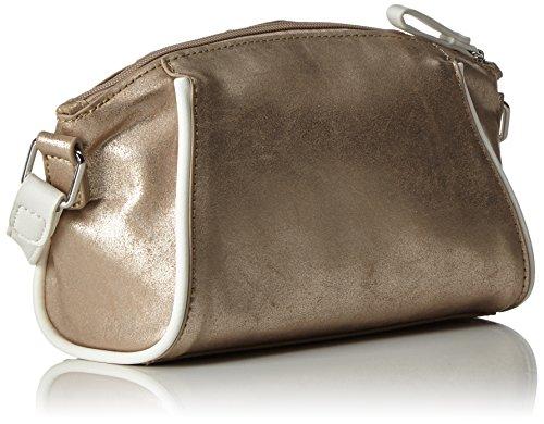 Tamaris Damen Delfina Crossbody Bag Umhängetasche, Einheitsgröße Gold (copper comb)