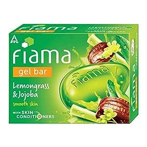 Fiama Gel Bar, Lemongrass and Jojoba for smooth skin, with skin conditioners, 125g