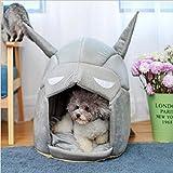 Etbotu Portable Batman chaud Panier pour animal domestique Chien Chat Maison Niche pour animal domestique...