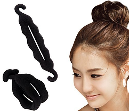 Blackbond Magic Hair Styling Twist Styling Bun Head Rubber Clip Hair Accessories For Women Hair Braiding Tool  available at amazon for Rs.76