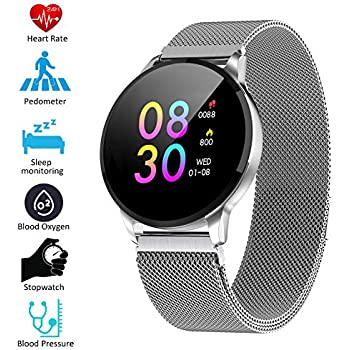 Padgene Smartwatch IP67 Impermeable Pantalla Color Pulsera ...
