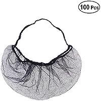 Healifty - 100 protectores desechables para barba de panal, antideslizantes, para cocinar y servir
