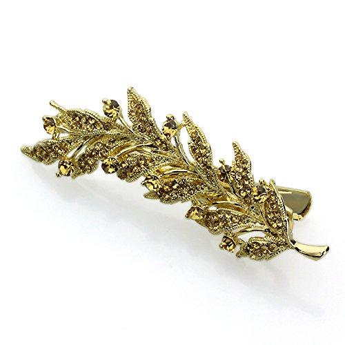 Swarovski Kristallblatt-Haarspange