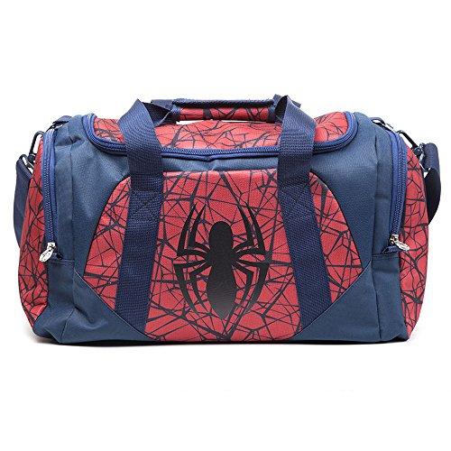 Marvel mb00172spn Spiderman Logo Duffle Bolsa de Deporte