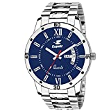 #8: Espoir Analog Blue Day and Date Dial Men's Watch A0507-B
