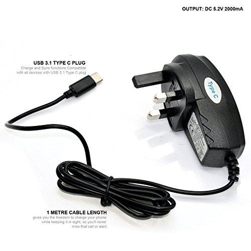 black-rivero-type-c-wall-plug-travel-mains-point-charging-charger-for-kodak-ektra