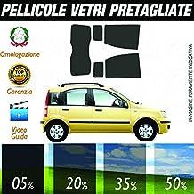Fiat Panda dal 2003 al 2012 Pellicole Oscuramento Vetri Posteriori Auto Pre Tagliate a Misura - 05%