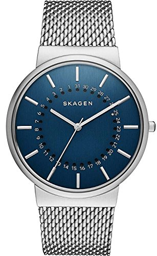 Skagen SKW6234 - Orologio da polso, Uomo, Acciaio inossidabile, colore: Argento