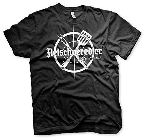 Fleischveredler Grillshirt - Tshirt Gelb