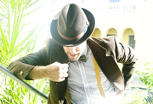 Dasmarca-collection hiver-déformable et compressible-chapeau de feutre fedora-Robin Marron
