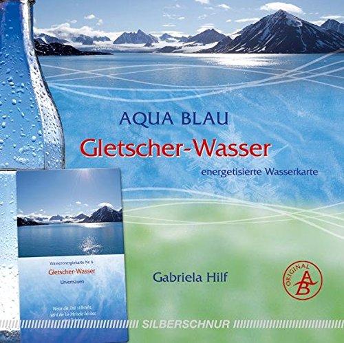 Gletscher-Wasser: Wasser-Energiekarte, Spitzbergen, Urvertrauen, rot +blau