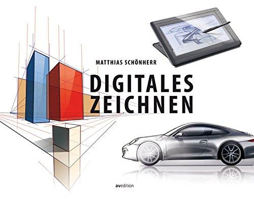 Digitales Zeichnen Buch-Cover