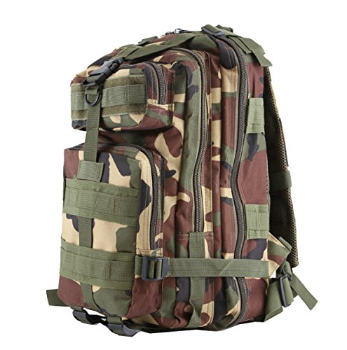 Yy.f Tattiche Militari Per Attaccare Borse Zaini Escursioni All'aperto Sacchetti Di Alpinismo Campeggio Trekking Caccia Campeggio. Multicolore A