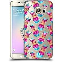 Head Case Designs Ananas Manie De Tendance! Étui Coque D'Arrière Rigide Pour Samsung Galaxy S7 edge