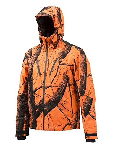 Beretta Herren Insulated Active Hose Jacke, Blaze Orange, 3XL -