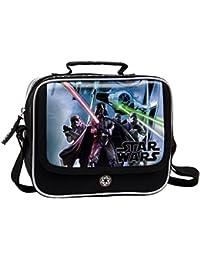 Star Wars Neceser Bandolera, Color Negro, 4.14 Litros