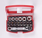 ALPENTOOL Bits Set, Bit Box 24 teilig