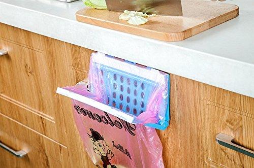 katoot @ Kunststoff Küche Schrank Schublade Tür Trash Taschen Rack Ständer faltbar Lebensmittel abfallstoffe Abfalleimer Mülleimer zum Aufhängen Storage Rack Organizer