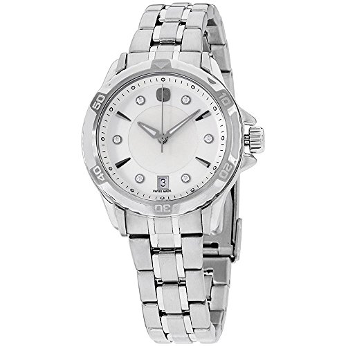 Wenger Women's GST 33mm Steel Bracelet & Case Quartz MOP Dial Watch 79112