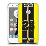 Head Case Designs Yellow Strike Speed Soft Gel Hülle für ZTE Blade V8 Lite