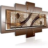 Bilder 200x100 cm - XXL Format - Fertig Aufgespannt - TOP - Vlies Leinwand - 5 Teilig - Wand Bild - Kunstdruck - Wandbild - Abstrakt 020101-22 200x100 cm B&D XXL