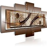 murando - Bilder 100x50 cm - Leinwandbilder - Fertig Aufgespannt - Vlies Leinwand - 5 Teilig - Wandbilder XXL - Kunstdrucke - Wandbild - Abstrakt 020101-22
