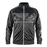 Bad Boy Herren All Around Laufjacke, schwarz/grau, Large