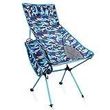 SZP Chaise Pliante extérieure, Chaise de Plage de Camouflage en Aluminium, Chaise de Loisirs, approprié pour Voyager à l'extérieur de la Montagne Camping pêche Barbecue Party,03