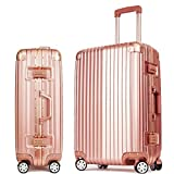 MHGAO ABS + PC Valigia High-End Business Trolley Universale Ruote 6-22 Pollici