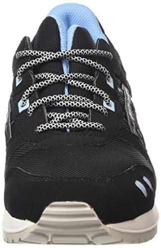 ASICS Gel-lyte Iii H637y-9090-13, Unisex-Erwachsene Sneakers Schwarz (black/black 9090)