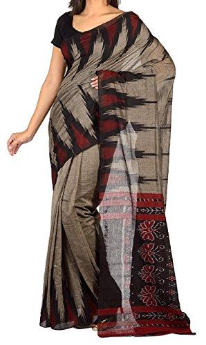 Devanshi Handloom Women's Cotton Saree(DVHL007_Multicolour_ Free Size)