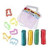 Mini Play Dough Clay Set Comes In Small Box