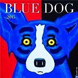 Blue Dog 2015 Wall Calendar