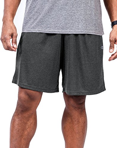 Champion Big Men's Jersey Short 3XL Grey (Elite-jersey-shorts)