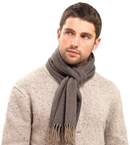 hommes-douce-et-fine-chevrons-texture-weave-echarpe-par-rjm-brown-fawn