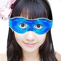 Xikezan caldo e freddo mascherina per occhi allevia affaticamento degli