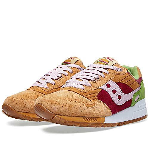 "Saucony Shadow 5000 ""Burger x fin – marron clair/rouge/vert Trainer Marron - marron"