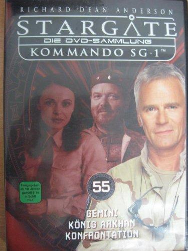 Stargate Kommando SG 1 - Gemini / König Arkhan / Konfrontation - Die DVD-Sammlung: DVD 55