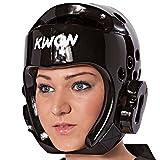 KWON Taekwondo Kopfschutz 40064 PU CE Schwarz WTF Kopfschützer