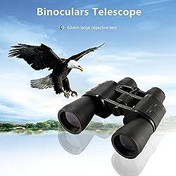 Houkiper Binoculares 20-180x100 de gran aumento de largo alcance Zoom Gran angular telescopio HD Birdwatching