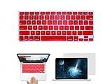 Schöner Aufkleber Silikon MacBook Tastatur Hautschutz Tastatur Film Cover für Apple New Pro 13.3