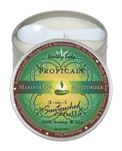 Irdischen Körper Runde Kerzen, Tropicale, 6.80-ounce (Irdischen Körper)