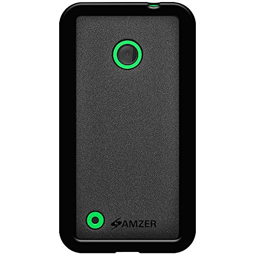Amzer 97259 Pudding TPU Case - Black for Nokia Lumia 530  available at amazon for Rs.299