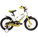 """BMX Kinderfahrrad 16 Zoll Arkus Fahrrad 16"""" mit Rücktrittbremse und Stützräder"""