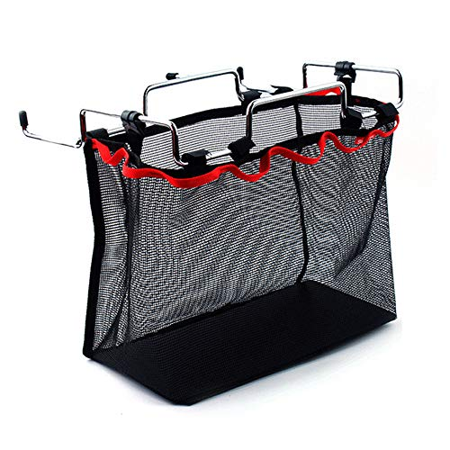 Picknick-tisch-kit (OTENGD Camping Aufbewahrungstasche Tragbare Falten Mesh Hängen Trocknen Aufbewahrungstasche mit Eisenrahmen für Outdoor Grill Tool Kit Picknick Tisch Küche Kleinigkeiten)